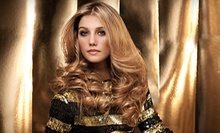 Haircut-and-Color Package or Damaged-Hair Treatment at Tahe Pro Salon (Up to 57% Off)