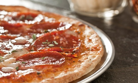 Two Groupons, Each Good for $10 or $15 Worth of Pizza at Jimbo's Pizza and Buffet (Up to 50% Off)
