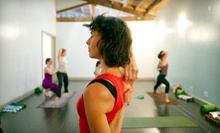 10 or 15 Yoga-Pilates Classes or Month of Unlimited Yoga-Pilates Classes at Innerstellar Pilates & Yoga (Up to 78% Off)
