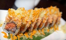 Hibachi Cuisine and Sushi at Samurai Japanese Restaurant (Half Off). Four Options Available.