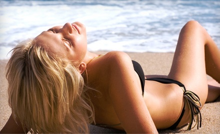 One or Three Spray-Tan Sessions at La Bella (Up to 57% Off)