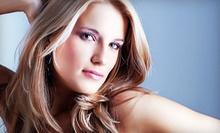 Haircut and Deep Conditioning with Option for Colour Retouch and Full Facial Wax at UK Trendz (Up to 79% Off)