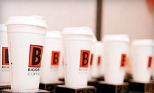 $15 for $30 Worth of Coffee, Tea, and Sandwiches at Biggby Coffee
