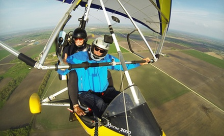Ultralight Hang-Gliding SkyRide at 2000 Feet for One or Two from Adventure At Altitude in Steinbach (Up to 56% Off)