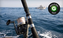 Five-Hour Rock-Fishing Trip for Two or Four from Captains Reel Deep Sea Fishing in Newport (Up to 54% Off)