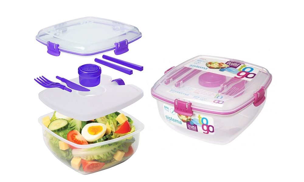 Lunch Storage Containers With Compartments