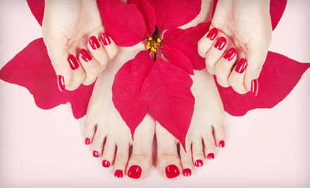 One or Three Mani-Pedis at Shaso (Up to 59% Off)