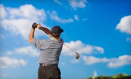 $75 for a Golf-Instruction Package with Two Lessons and One Playing Lesson at Pigeon Creek Golf Course ($150 Value)
