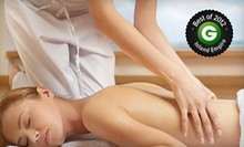 One or Two 50-Minute Massages at The Refresh Bar &amp; Spa (Up to 52% Off)