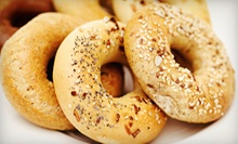 $7 for $15 Worth of Bagels, Sandwiches, and Salads at Lox Stock & Bagel