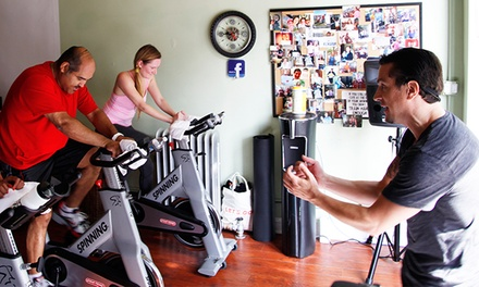 Three or Five Spin Classes at Revolution-X (Up to 67% Off)