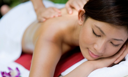 60-Minute Deep-Tissue Massage at Sunrinity Health (Up to 57% Off)