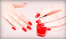 One or Two Spa Mani-Pedis at Fira Hair & Skin (Up to 51% Off)
