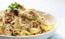 $25 for an Italian Dinner with an Appetizer, Dessert, and Drinks for Two at Ricci's (Up to $51.80 Value)