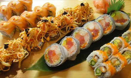 Sushi and Pan-Asian Cuisine at Sushi Kuni (Up to 40% Off).