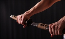 Japanese-Culture Classes for Kids or Adults, or Five Samurai-Sword Classes at Resobox (Up to 61% Off)