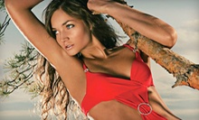 One or Two Custom Airbrush Tans with Kim at Spray Tan California (Up to 60% Off)