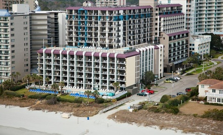 1-Night Stay for Two in an Ocean-View Double-Queen Room at Grande Shores Ocean Resort in Myrtle Beach, SC