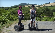 $49 for a Russian River Vineyards Deluxe Segway Tour from Segway of Healdsburg ($99 Value)