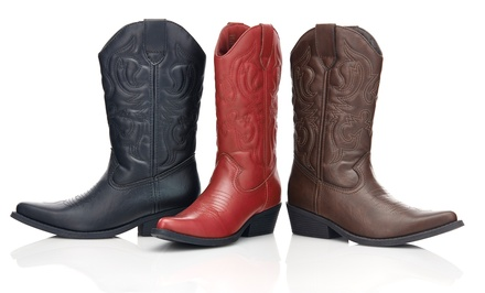 Olive Street Western Boot