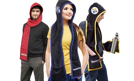 NFL Ultra Fleece Hoodie Scarf