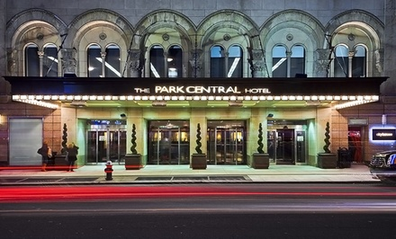 groupon daily deal - Stay at Park Central New York in Manhattan, with Dates into June
