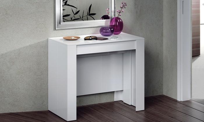 Tavolo consolle allungabile fino a 235 cm. Vari modelli disponibili da ...