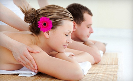 Individual or Couples Spa Day with Massage, Spa Facial with Scalp Massage, and Mani-Pedi at Cottage Spa (Up to 58% Off)