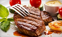 $15 for $30 Worth of Steak, Seafood, and Drinks at Safari Steak House