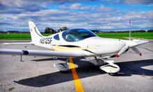 $139 for a 90-Minute Flight Adventure with Logbook and Commemorative Photo from Sport Flying USA ($350 Value)