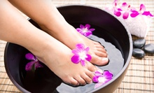 $55 for a 60-Minute Pedicure and a 60-Minute Custom Facial at Escape Salon and Spa ($118 Value)