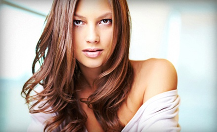 Haircut and Color Packages from Kristina at The Chameleon Studio (Up to 54% Off). Four Options Available.