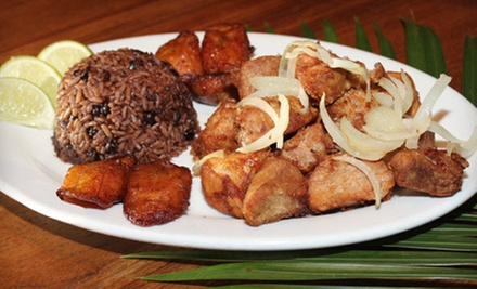 Cuban Cuisine and Drinks for Two or Four at Bongos Cuban Caf (Half Off)