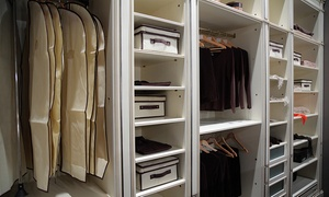 $199 For Up-to-6-foot Custom Closet Or Laundry-room Storage Unit From Advanced Custom Cabinets And Closets ($450 Value)