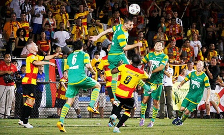 Fort Lauderdale Strikers Soccer Match for Two or Four with Drinks at Lockhart Stadium on June 29 (Up to 53% Off)