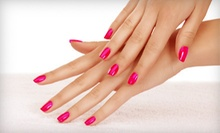 One or Two Shellac Manicures or a Shellac Manicure with Spa Pedicure at Inspired Hair Studio (Up to 55% Off)
