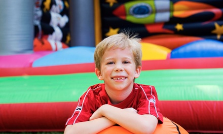 Party for Up to 10 Kids or 10 or 5 Open-Bounce Passes to BounceU of Nashville (Up to 57% Off)