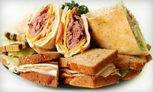 Sandwiches and Salads at Clara's Tidbits (Half Off). Three Options Available.