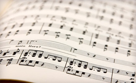 $30 for Two 30-Minute Private Lessons at Richmond Music Center ($60 Value)