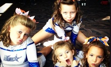 $30 for Month of Weekly Gymnastics, Cheer-Tumbling, or Pre-K Classes at Premier Athletics of Lexington ($60 Value)