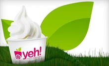 C$5 for C$10 Worth of Fro-yo, Crepes, and Cookies at Yeh! Frozen Yogurt & Café