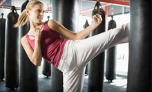 One Month of Tae Kwon Do Classes, or One or Three Months of Kickboxing Classes at Kees Tae Kwon Do (Up to 76% Off)
