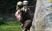 Three Hours of Paintball with Equipment Rental for Two or Four at Drop Zone Paintball Park (Up to 58% Off)