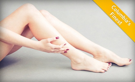 $99 for Two Spider-Vein Treatments at Hutchinson Center for Aesthetic Medicine ($250 Value)