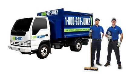 Quarter or Half Truckload of Junk Removal from 1-800-GOT-JUNK? (50% Off)