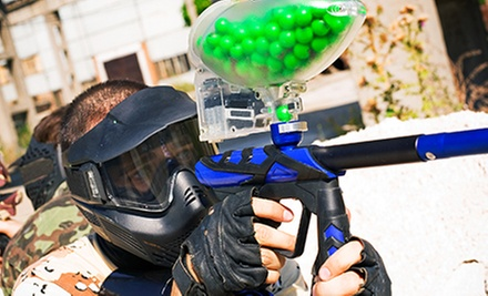 All-Day Airsoft with Gear for Two or Four, or One- or Three-Month Season Pass at Mighty Sports Center (Up to 54% Off)