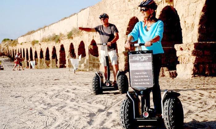 "SEGS - מספר סניפים: חווית נסיעה על סגוויי למשך שעה ברחבי יפו או בחיפה רק ב-89 ₪. תקף גם בסופ""ש ובחגים!"