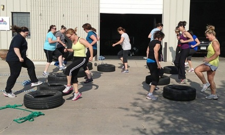 12 Women's Boot-Camp Classes, or 1 Month of Unlimited Boot-Camp Classes at Front Range Boot Camp (Up to 57% Off)