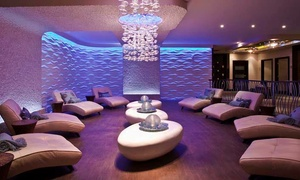 $105 For A Facial-and-massage Package With Bubbly At Aveda Seven Seas Spa & Salon ($222 Value)