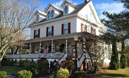 1- or 2-Night Stay for Two at The Dormer House in Cape May, NJ. Combine Up to 10 Nights.